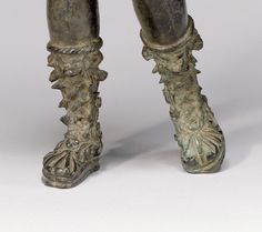 """thegetty: """" Hair up, boots on. She's ready for some action. Diana, the Roman goddess of the hunt. Roman History, Art History, Ancient Rome, Ancient Art, Fall Of Constantinople, Roman Sandals, Roman Sculpture, Getty Museum, Medieval Jewelry"""