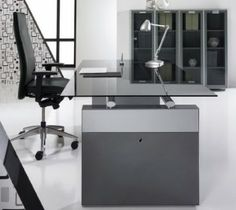 Glass Office Desks | Executive Glass Desks | Solutions 4 Office