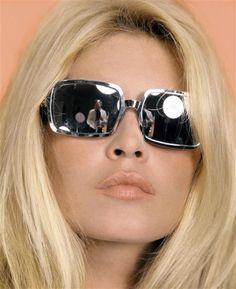 Brigitte Bardot by sam levin (1967) #sunglasses