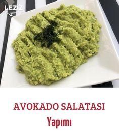 Avocado Salad Making - My Delicious Food - Salad Recipes Best Salad Recipes, Avocado Recipes, Vegetarian Recipes, Appetizer Salads, Appetizers, How To Make Salad, Food To Make, Perfect Salad Recipe, Turkish Recipes