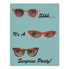 Vintager Spaß-Retro diskretes Überraschungs-Party-