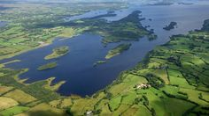 RSPB Lower Lough Erne nature reserve, County Fermanagh, Northern Ireland.