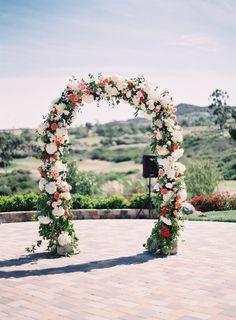 wedding ceremony idea; photo: Kurt Boomer Photography