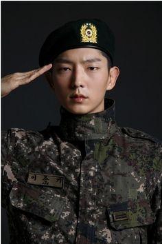 Lee joon gi....Handsome soldier
