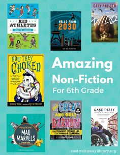 East Rockaway Public Library: Awesome Non-Fiction for Middle Grades #factbooks #middlegradesread