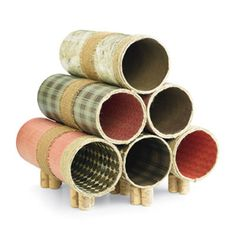 Wine Tube Rack