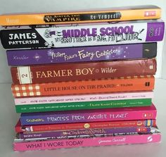 Girl Lot 11 Chapter Books Princess Katie Kazoo Middle School House Fairy CD Etc