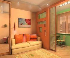 Дизайн интерьера - комната + балкон. Обсуждение на LiveInternet - Российский Сервис Онлайн-Дневников