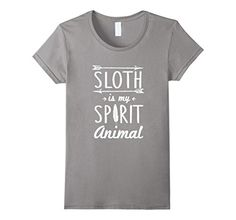 >> Click to Buy << Sloth Is My Spirit Animal T-Shirt 2017 Summer Style Women Short Sleeve Shirts 100% Cotton Top Tees Print Cotton T Shirt #Affiliate