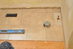 How to Tile a Bathroom, Shower Walls, Floor, Materials pics, Pro-Tips) Shower Walls, Bathroom Shower Curtains, Bathroom Plumbing, Basement Bathroom, Master Bathrooms, Garage Gym Flooring, Bathroom Renovations, Bathroom Ideas, Basement Remodeling