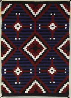 3rd Phase Chief Blanket by Rena Begay (Navajo)