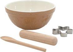 Mason Cash Mason Cash 4-Piece Gingerbread Baking Set: Amazon.co.uk: Kitchen & Home