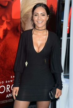 Tristin Mays at movie premier