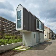 堀ノ内の住宅: 水石浩太建築設計室/ MIZUISHI Architect Atelierが手掛けたtranslation missing: jp.style.家.モダン家です。
