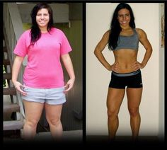 Motivation Before & After Weight Loss and Exercise!