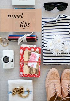 Travel tips for anywhere! These are great, especially for ladies who may be prone to over packing!