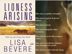 """Love this book, """"Lioness Arising"""" by @lisabevere , recommended to read, it's so encouraging. Ada judul versi indo nya Singa Betina Bangkit."""