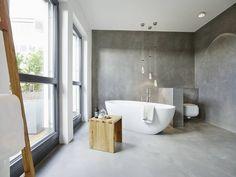 Finde moderne Badezimmer Designs: Penthouse. Entdecke die schönsten Bilder zur Inspiration für die Gestaltung deines Traumhauses.