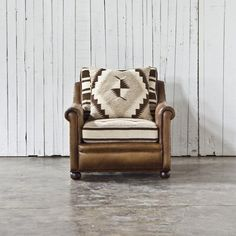 Dhurrie Club Chair - Chairs / Ottomans - RLH Collection - Products - Ralph Lauren Home - RalphLaurenHome.com
