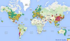 How Bad Is Your City's Air Pollution? This Map Will Tell You.