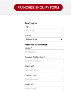 If you want to apply on MolQ then use franchise form.