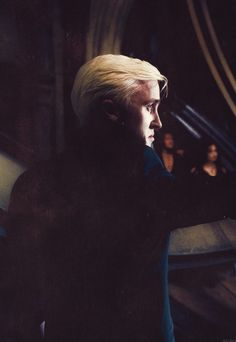 """I once knew a boy who made all the wrong choices... "" - Dumbledore - Draco Malfoy (Tom Felton)"