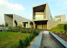 The Courtyard House by Sanjay Puri Architects, IndiaRealized bySanjay Puri Architects, the Courtyard House is locatedat the edge of a cement plant in Rajasthan, India.Designed in response to a cli... Architecture