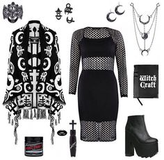 Pinterest: @MagicAndCats ☾ Outfit inspiration. Get it all from our webstore... ATTITUDECLOTHING.CO.UK | We…