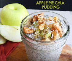 Making Apple Chia Pudding for Breakfast - Raw Veganism Gazette