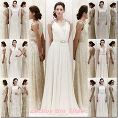 Vestidos de novia vintage, los adorarás