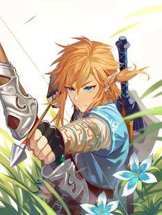 The Legend Of Zelda, Legend Of Zelda Memes, Legend Of Zelda Breath, Zelda Drawing, Link Botw, Hyrule Warriors, Anime Lindo, Estilo Anime, Link Zelda