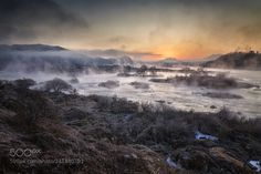 The morning scenery by the river by c1113