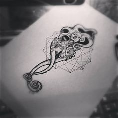 #dotwork  #octopus #mutant #tattoo #art #artwork #tattooart #style