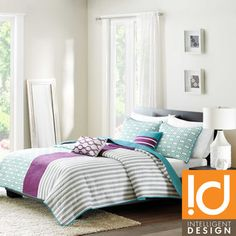 ID-Intelligent Design Lexie 3-piece Coverlet Set | Overstock.com Shopping - The Best Prices on ID-Intelligent Designs Teen Bedding