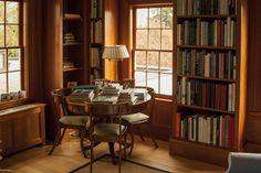 A table and chairs in areas with very large books, like Art, would make it easier for people to peruse the books.  The 20-Year Renovation - WSJ.com