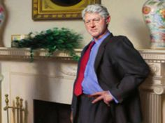 Bill Clinton portrait features Monica Lewinsky reference, artist admits - People - News - The Independent