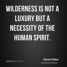 Image result for EDWARD ABBEY NATURE QUOTE