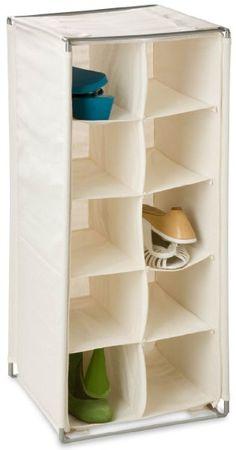 Honey-Can-Do SHO-01656 10-Pair Shoe Organizer, Storage Cubby, Natural:Amazon:Home & Kitchen
