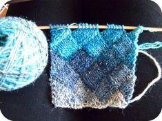 comment tricoter des entrelacs