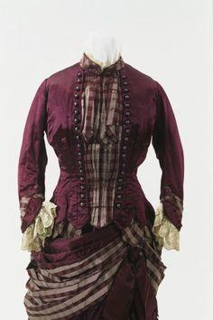 Day dress ca. 1885