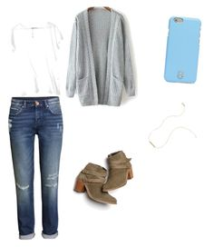 """Untitled #28"" by kcandkc on Polyvore featuring H&M, Tory Burch, Wish by Amanda Rose and Monsoon"