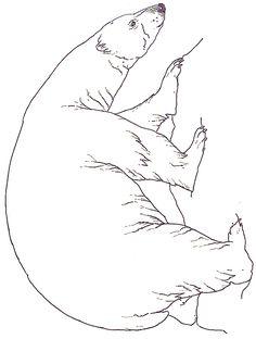 Mural Three Snow Bears Polar Bear Printable