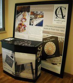 """Desk """"Arnaldo Caprai"""" museo virtuale delle arti tessili."""