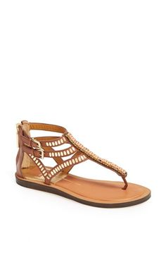 Dolce Vita 'Faxon' Leather Thong Sandal available at #Nordstrom
