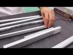 Como instalar correctamente tiras de LED (perfiles de aluminio) - YouTube