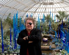 Dale Chihuly - born September 20, 1941) is an American glass sculptor and entrepreneur. His work is included in more than 200 hundred museum collections worldwide. In 1999, Chihuly mounted a challenging exhibition, Chihuly in the Light of Jerusalem; more than 1 million visitors attended the Tower of David Museum to view his installations. Chihuly has led the avant-garde in the development of glass as a fine art.