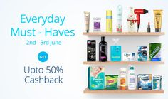 For 649/-(35% Off) Get 35% cashback on order Rs.999, 45% cashback on Rs.1499 & above on Beauty & Personal Care Paytm.