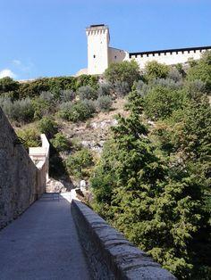 Spoleto - Ponte delle Torri e Rocca