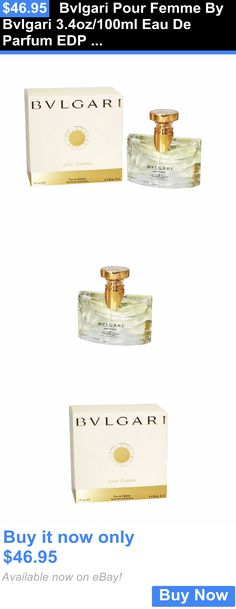 Women Fragrance: Bvlgari Pour Femme By Bvlgari 3.4Oz/100Ml Eau De Parfum Edp Spray Womens Perfum BUY IT NOW ONLY: $46.95