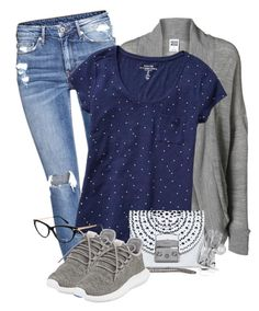 """""""Untitled #1006"""" by milenam204 on Polyvore featuring H&M, Vero Moda, Gap, adidas, Furla and Tom Ford"""